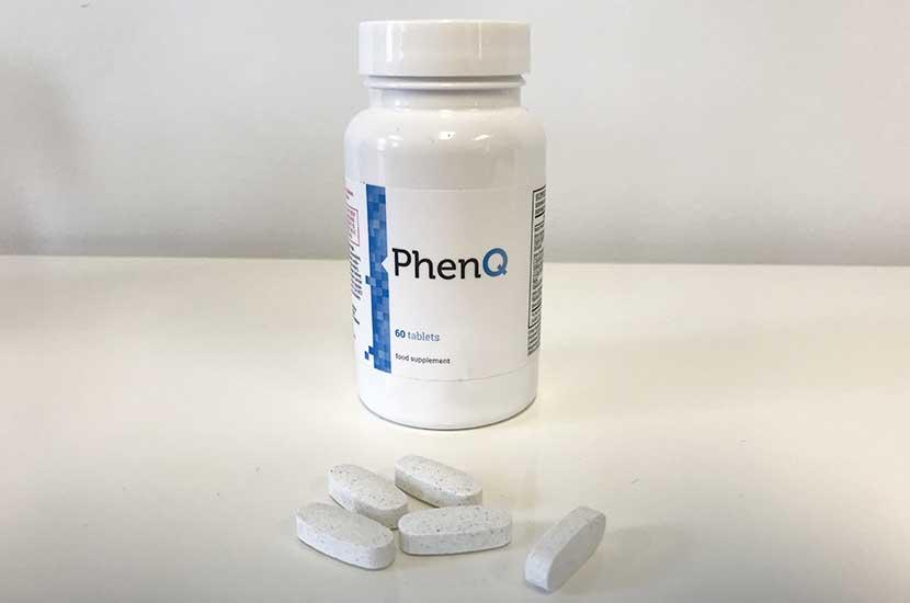 Botella de PhenQ