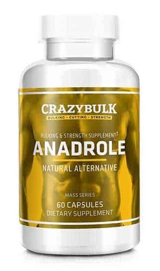 Anadrole favorece el aumento de la masa muscular