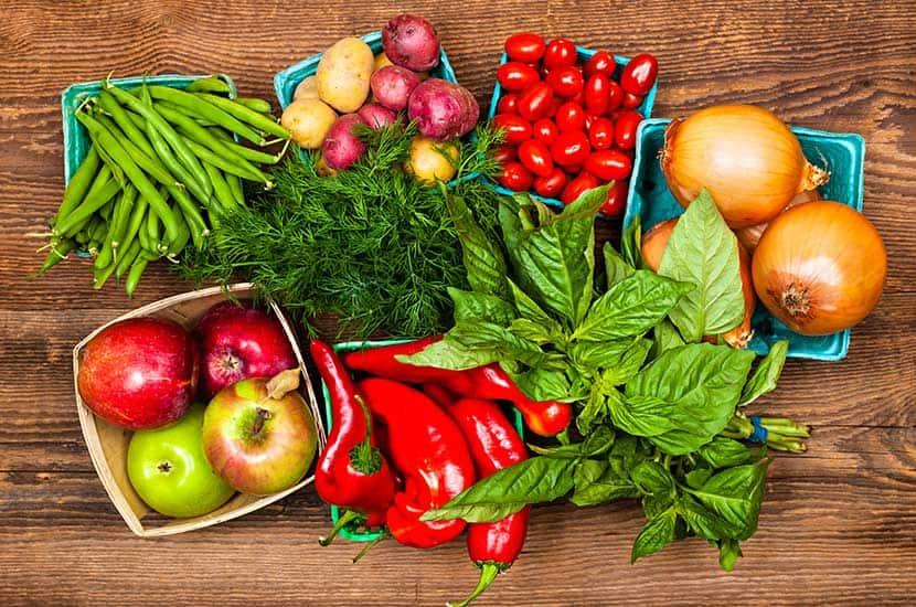 Comer amplia gama de frutas y vegetales te ayudará a potenciar los efectos de PhenQ