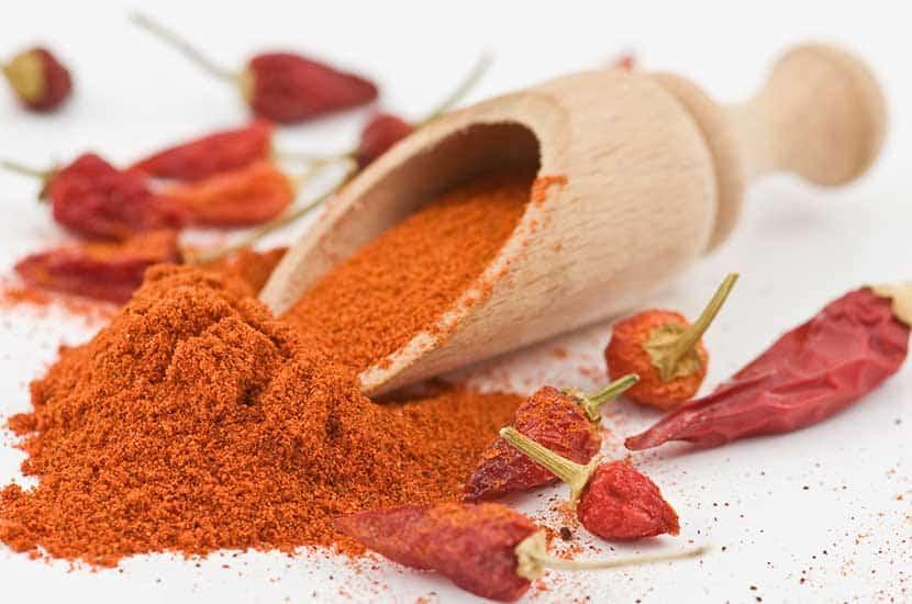 La pimienta chile aumenta el gasto de energía del cuerpo