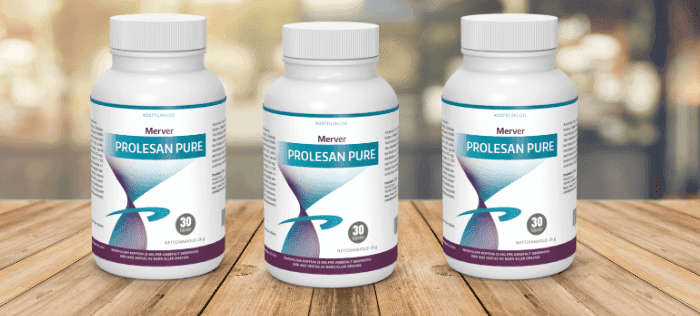 Prolesan Pure tiene una exclusiva fóruma de extractos vegetales que te ayudan a ponerte en forma
