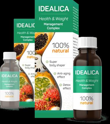 Suplemento dietético en forma de gotas con ingredientes 100% naturales
