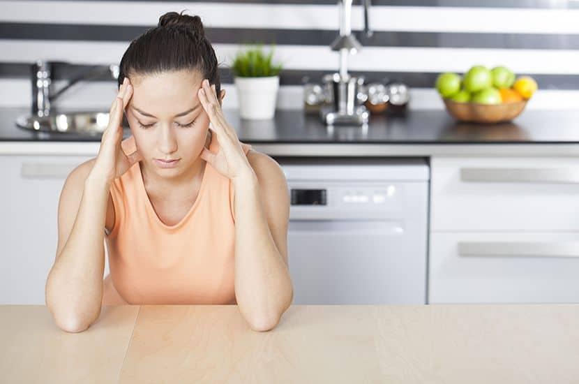 El estrés puede causar dolor muscular, especialmente en la espalda