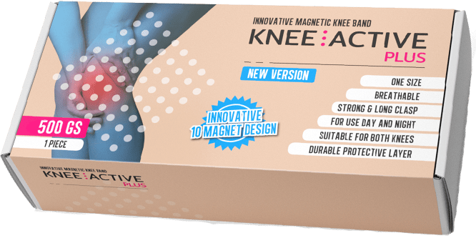 Knee Active Plus brinda apoyo y estabilidad