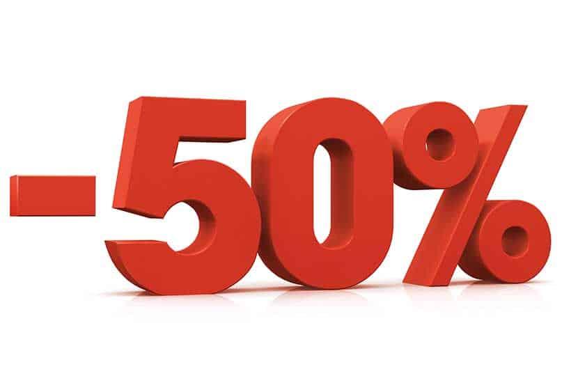 Actualmente puedes comprar Caralean con un 50% de descuento