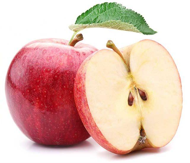 La pectina de fibra alimentaria presente en distintas frutas y vegetales