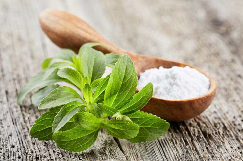 La stevia es un endulzante natural con cero calorías