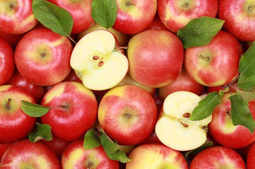 La fibra de la manzana te ayuda a sentirte más saciado