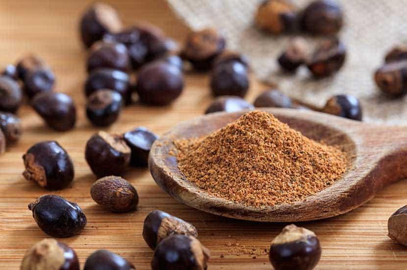 Las semillas de guaraná son altas en cafeína