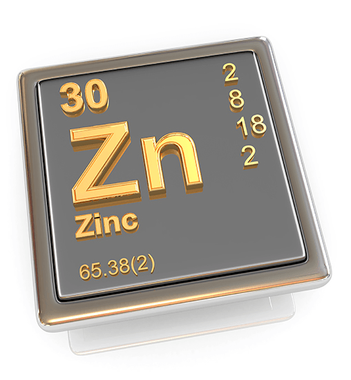 El zinc es un nutriente esencial para el organismo