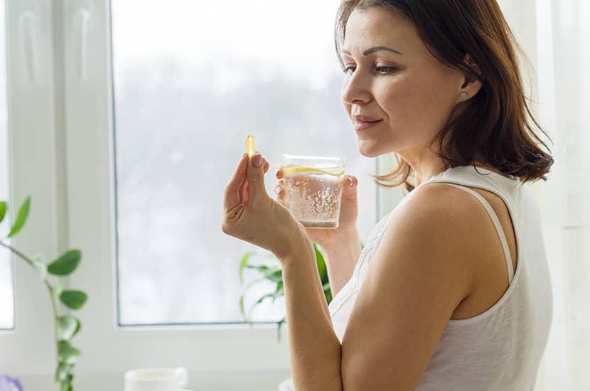 Toma una cápsula de Germitox antes del desayuno y una antes de la cena