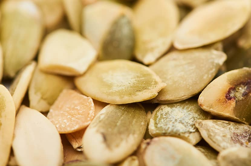 Las semillas de calabaza también tienen propiedades antiinflamatorias