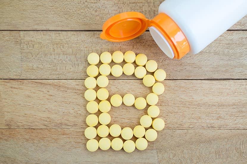 Las vitaminas del grupo B actúan directamente sobre los carbohidratos