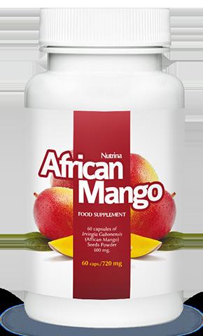 African Mango es un suplemento dietético a base de mango africano