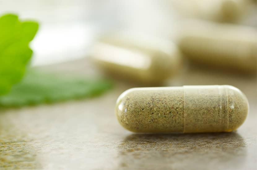 Toma dos pastillas de Green Barley Plus al día