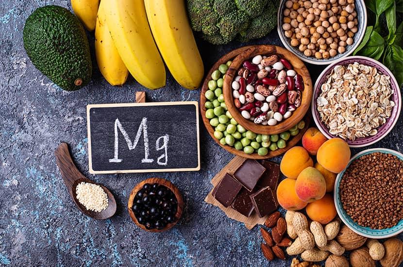 El magnesio es capaz de actuar directamente sobre el metabolismo
