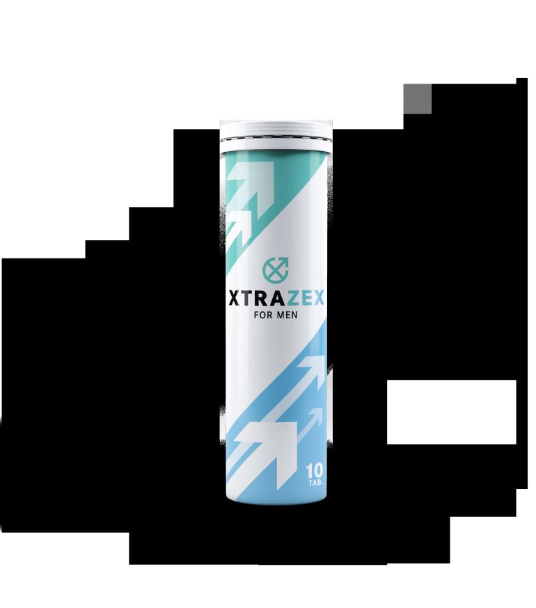 Xtrazex es un producto en forma de tabletas efervescentes para la potencia masculina