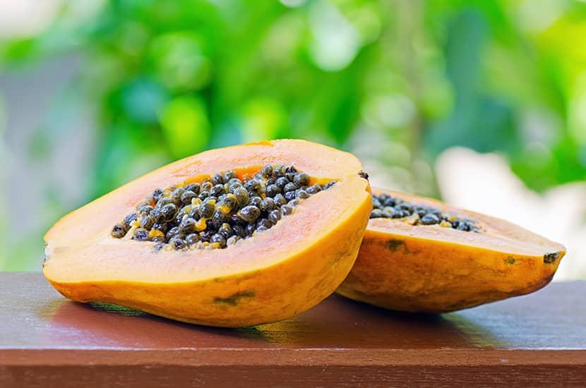 Estudios han demostrado que la papaya también podría eliminar algunos parásitos
