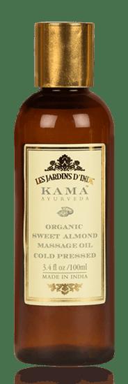 E aceite de almendras de Kama Ayurveda es 100% puro