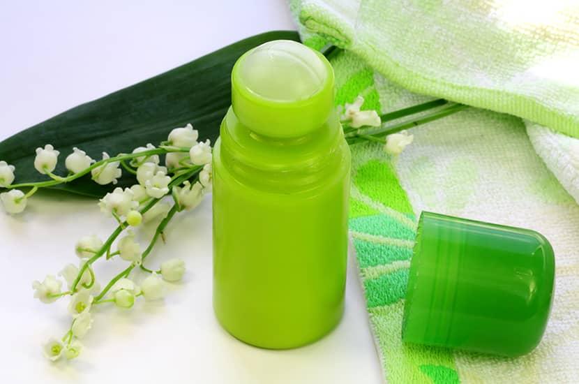El farnesol es un compuesto desodorante