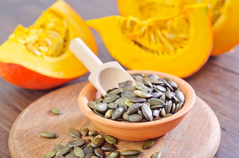 El extracto de semillas de calabaza ayuda a mejorar el funcionamiento de la próstata