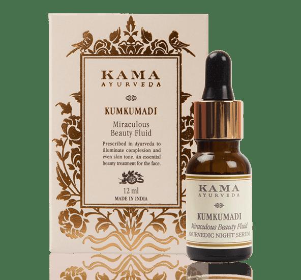 Kumkumadi es una exclusiva mezcla de aceites esenciales y hierbas con una especie de azafrán puro