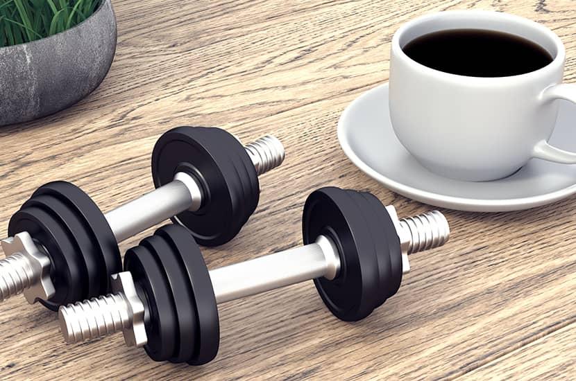 La cafeína también ayuda a la quema de grasa