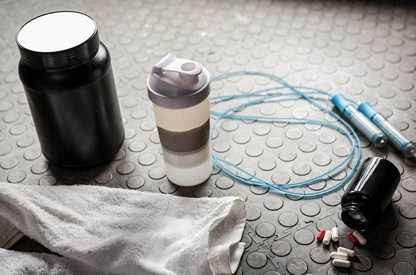 Toma Biocore antes o después del entrenamiento en el gimnasio