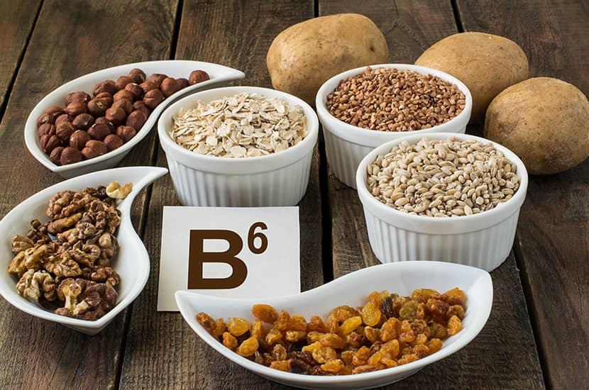 La vitamina B6 es un potente antioxidante
