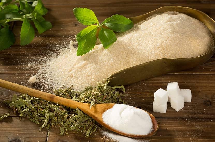 La stevia es un popular edulcorante natural